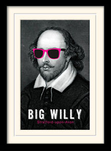 Shakespeare Big Willy Framed & Mounted Print
