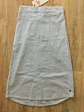 Numph striped pencil midi skirt - pockets - New with tags BNWT
