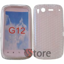 Cover Custodia Per HTC Desire S Trasparente Gel Silcone TPU Diamond