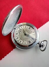 Antique Soviet Russian pocket watch Молния Molnija 3602 Vintage USSR☭