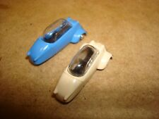 2 Busch of Germany Ho Scale 1/87 Kr 200 3 Wheel Cars.