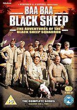 BAA BAA BLACK SHEEP Stagioni 1/2 Serie completa BOX 10 DVD in Inglese NEW .cp