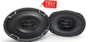"MTX TDX7X10 7"" x 10"" 3-Way 125-Watt RMS 4Ω Triaxial Speaker Pair FREE SHIPPING"