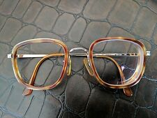 Vintage Armani Eyeglasses Brown Tortoise And Gold EUC With Case