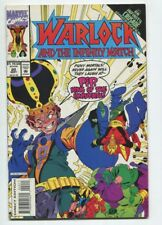Warlock and the Infinity Watch #20 Thanos, Infinity Crusade Marvel Vf/Nm