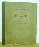 Bubastis 1887-1889 by Edouard Naville 1891 Hardcover First Edition
