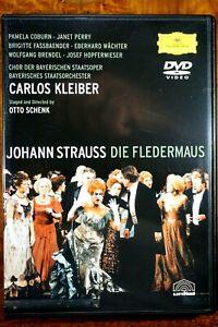 J. Strauss - Die Fledermaus, Carlos Kleiber  - DVD, As New
