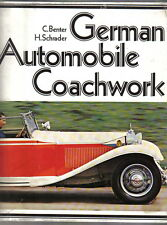 German Automobile Coachwork Benter & Schrader Minerva Rolls Royce Adler Maybach