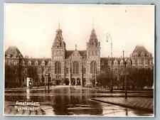 Nederland, Amsterdam, Rijksmuseum  Vintage silver print. Pays Bas. Nederland.