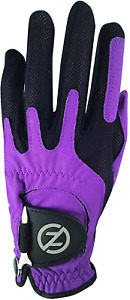Zero Friction Men's Compression-Fit Synthetic Golf Glove Universal Fit One Size
