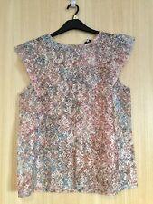 Ladies Bnwt Next Beige Lace Top Size 16/18 Rrp £24