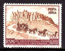 San Marino - 1951 75 years UPU / Coach - Mi. 456 MNH