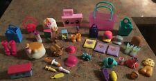 Shopkins accessories baskets, dog, bags, clothing, shoes