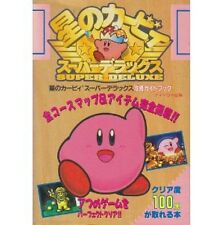 Kirby Super Star Kirby's Fun Pak: All Course Map & Item complete guide book SS