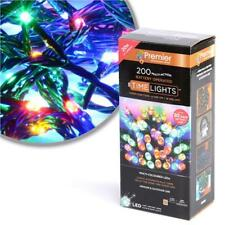 Premier 20M 200 Multi- Action Battery Operated LED Lights, Multicolour LB112384M