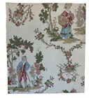 Charming 20th Cent. French muliticolor toile conversational wallpaper 5415