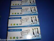 4 Toner Cartridges Dell 1250 1250c 1350cnw 1355cn 1355cnw 331-0778 331-0777
