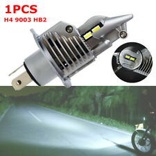 1PCS Motorcycle Car H4 9003 HB2 LED Headlight Bulb 6000LM Hi/Low Beam Lamp 6500K