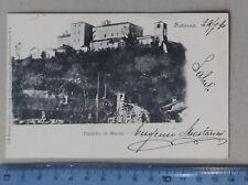 18456 Cartolina - Cuneo - Saluzzo - Castello di Manta - 1900