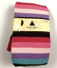 NEW! Baby Gap 4-5 Y Treehouse Footless Striped Tights