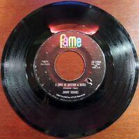 Rare Soul Jimmy Hughes Fame 1006 45rpm A Shot Of Rhythm & Blues I Worship The