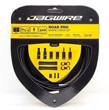 Jagwire Road Pro Slick Polished Brake Cable Kit For Sram/Shimano Black