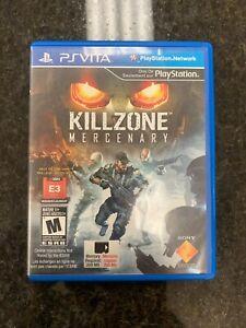 Killzone: Mercenary (Sony PS Vita, 2013) No Manual
