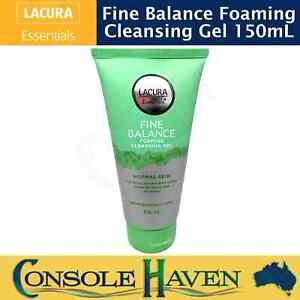 Lacura Essentials Fine Balance Foaming Cleansing Gel 150mL Face Wash Skin Care