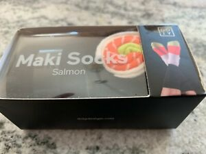 NEW DOIY DESIGN Maki Socks Multicolor Sushi Roll Salmon One Size