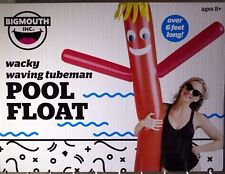 BigMouth Inc - Grab Atten: Wacky Waving Tube Man - Inflatable Pool Float Noodle
