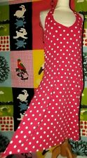BODEN ROBE DRESS FIFTIES POIS  BUSTE MAINTENU T UK 18 OU 44/48