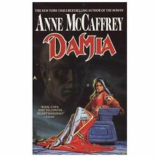 Damia by Anne McCaffrey  1993, Paperback Vintage Science Fiction