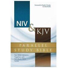 NIV & KJV PARALLEL STUDY BIBLE - ZONDERVAN PUBLISHING HOUSE (COR)/ STANLEY, CHAR