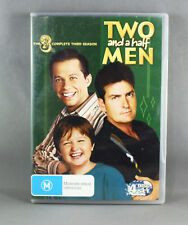 "TWO AND A HALF MEN ""COMPLETE THIRD SEASON"" (4 x DISC DVD SET) R4 PAL"