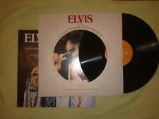 ELVIS PRESLEY A LEGENDARY PERFORMER VOL 1 LP (EX) 1973 (USA ISSUE)+ BOOKLET