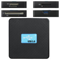 All in One USB 3.0 Memory Card Reader Adapter Micro SD TF CF XD M2 MS High Speed