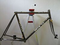 Vintage Olmo Professionisti Columbus steel road bike frame fork Campagnolo 54cm