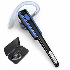 Bluetooth Headset, Comexion Wireless Business Earpiece V4.1 Blue+Case