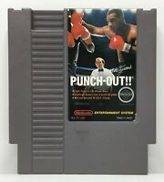 NES Mike Tyson's Punch-Out!! Video Game Cartridge *Authentic/Cleaned/Tested*