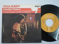 INGA RUMPF Jukebox Palace SPAIN 45 1978 Ex