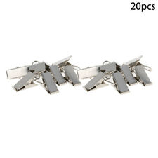 20Pcs 26x11mm Metal Curtain Clip with Hooks Vintage Hook Clip for Window Curtain
