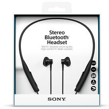 Sony SBH70 NFC Bluetooth Wireless Stereo Headpones Water-Resistant Black