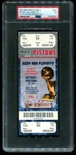 PSA Ticket Basketball 2004 NBA Finals Detroit Pistons GM5 Lakers Shaq's Last GM