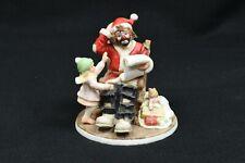 Flambro Emmett Kelly Jr Miniature Collection Spirit Of Christmas