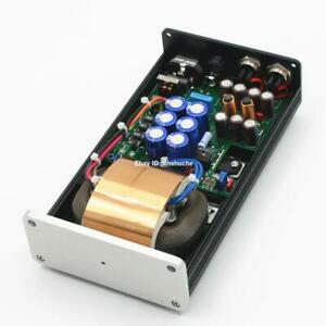 Finished 50VA HIFI Ultra-low Noise 2 Ways Linear Power Supply DC12V@3A Home PSU