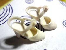 Mattel ~Vintage Barbie Doll White Super Star Era ~ Squishy Ankle Strap Heel