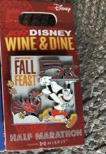 Pin Run Walt Disney World Wine & Dine 1/2 Half Marathon Weekend 5K 2017 Logo