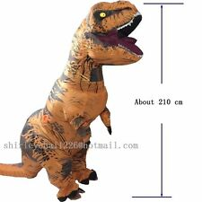 T REX Costume INFLATABLE Dinosaur Blowup Dinosaur Halloween costume For Adult