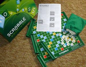 Scrabble original Brettspiel Familienspiel für 2-4 Spieler