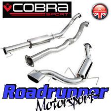"""COBRA SPORT Astra VXR mk5 3"""" Turbo Back Sistema di scarico Porta & DE CAT vz07c"""